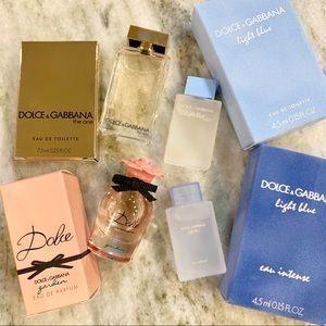 Dolce & Gabbana Light Blue Garden Lot x4
